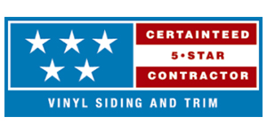 CertainTeed 5 Star Vinyl Siding and Trim